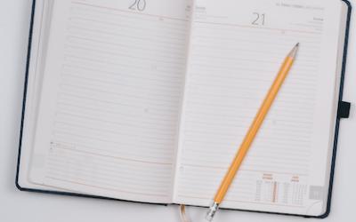 Die Leere im Kalender